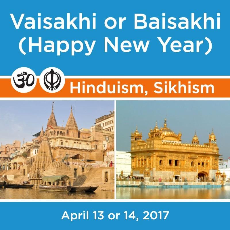 Vaisakhi or Baisakhi Festival is celebrated by both Hindus & Sikhs